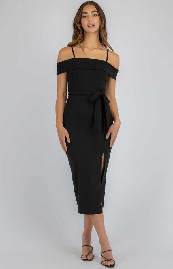 Wonder Midi Dress - Black