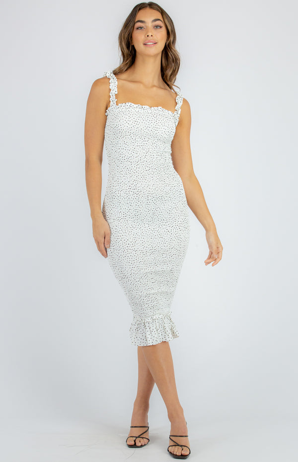 Kella Dress - White