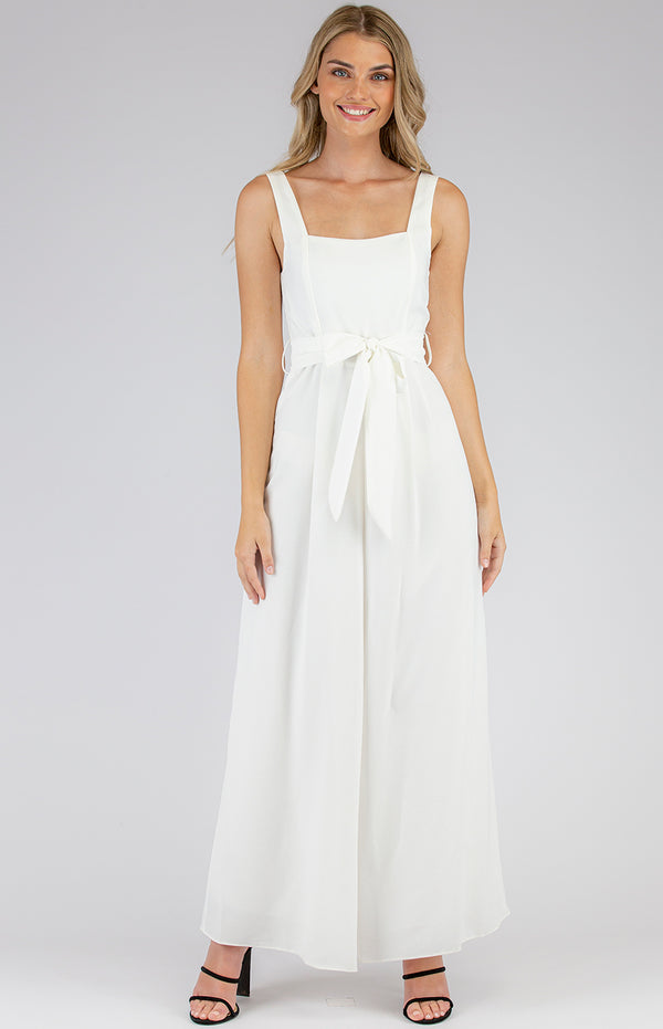 Manila Jumpsuit In White