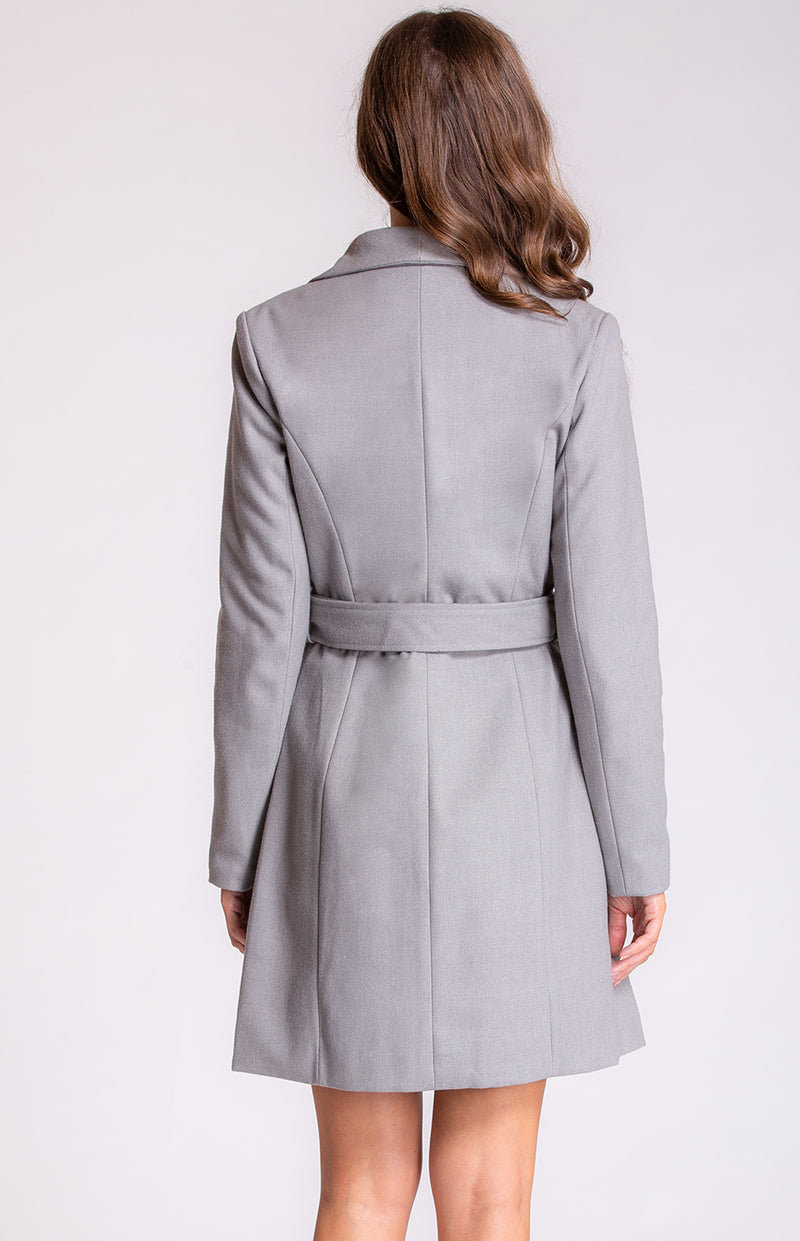 Narella Wool Coat In Grey