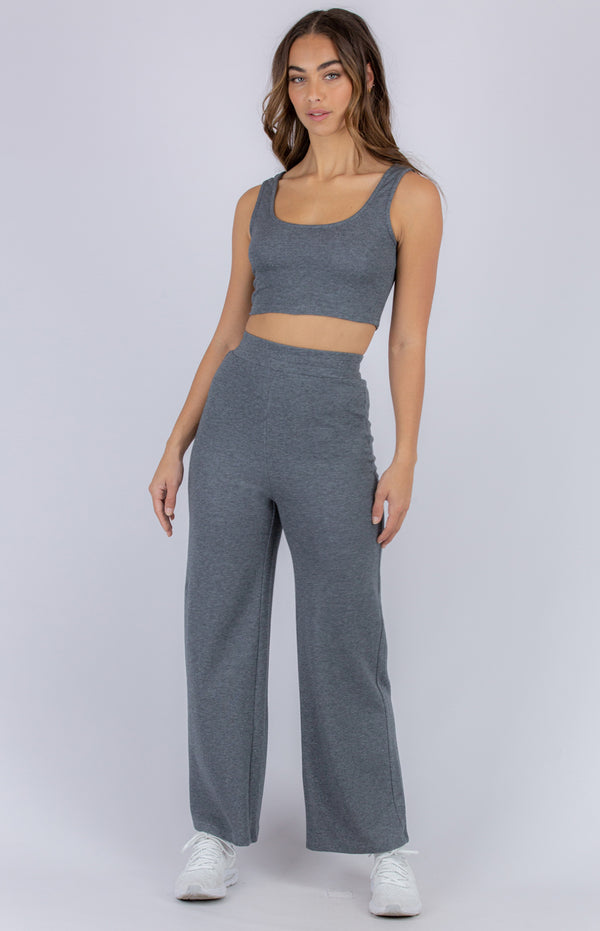 Nikita  Lounge Set - Charcoal