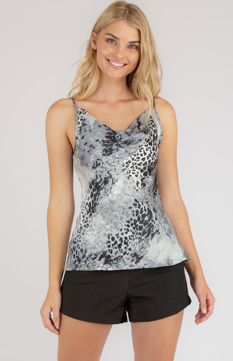 Cami  Top In Leopard Print