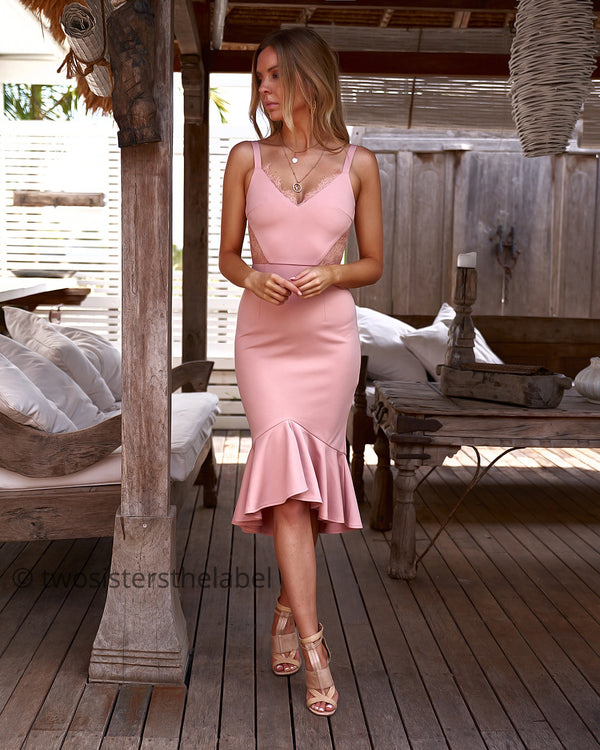 Santiago Dress in Pink