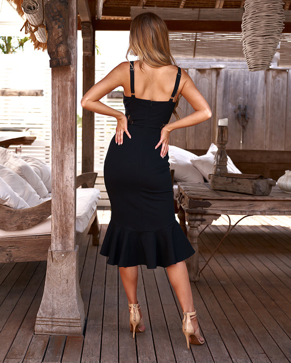 Santiago Dress in Black