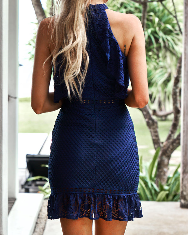 Shayne Dress Navy