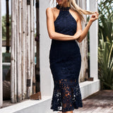 Sonia Dress in Navy