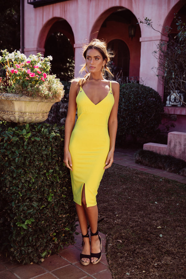 Tammy Dress Yellow