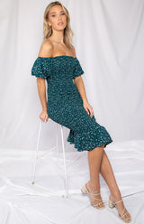 Daisy Dress - Emerald