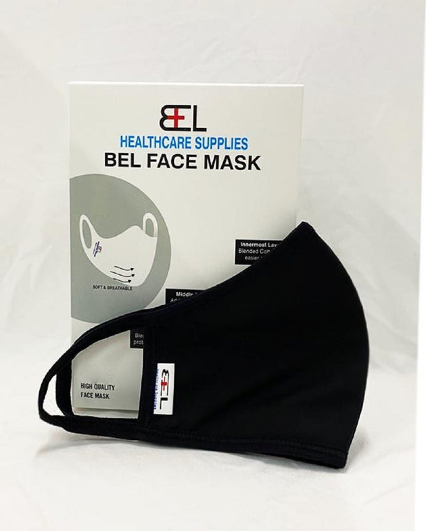 Bel Face Mask - Black