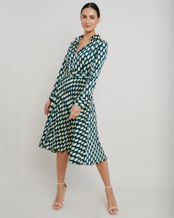 Rawin Midi Dress - Print