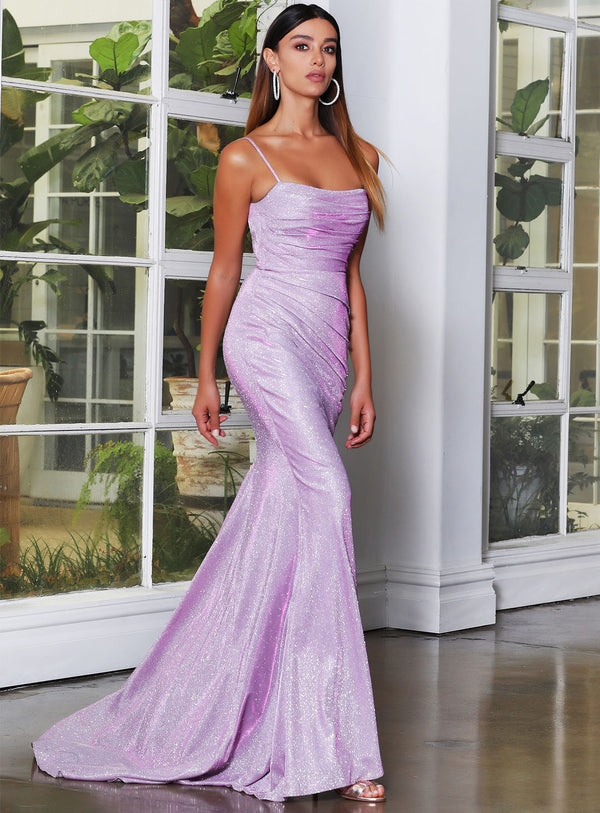 Kristy Gown By Jadore - Plum