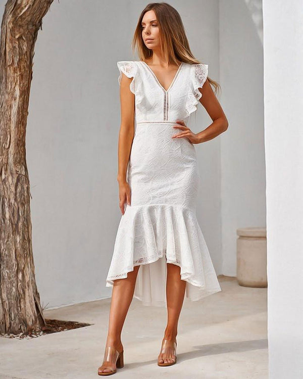 Chantelle Dress - White