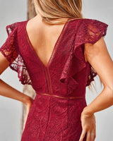 Chantelle Dress - Red