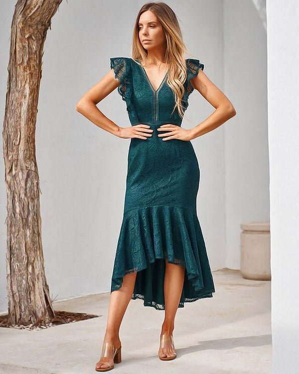 Chantelle Dress - Green