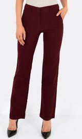 The Classic Pant in Maroon