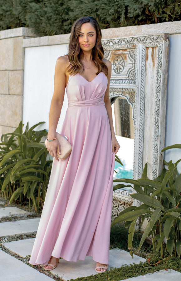 Tampa Maxi Dress - Blush