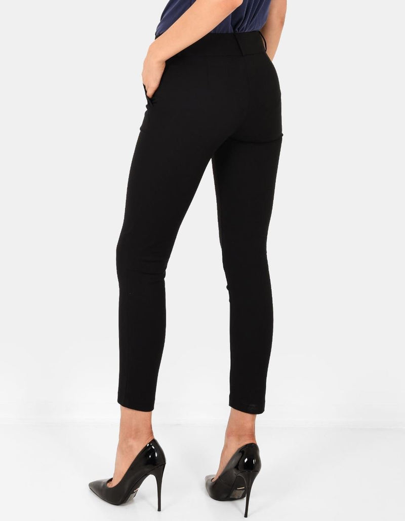 Taylor  Slim Pant in Black
