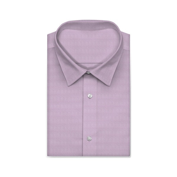 CENTURY Purple Solid Color Short/Long Sleeve Custom Cotton Shirt