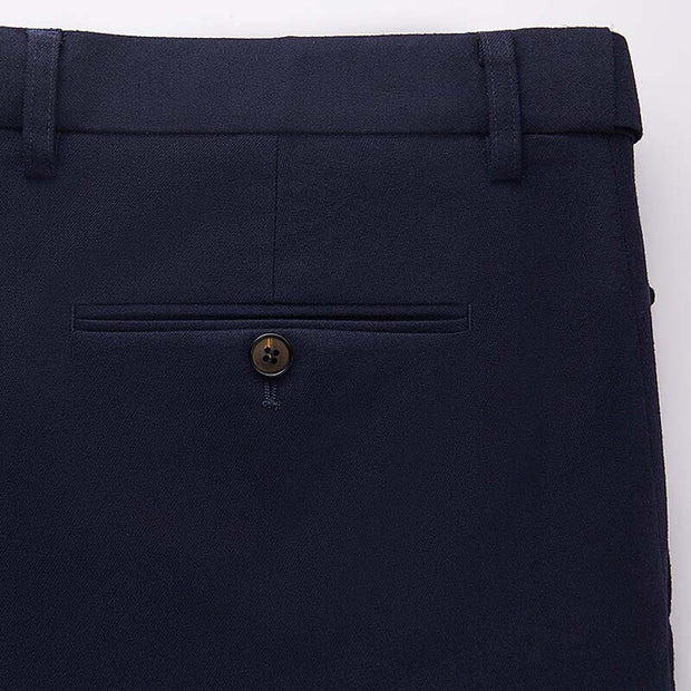 Dark Navy Heavy Weight Tailored Fit Customized Pants