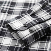 Jack Black & White Check Flannel Cotton Customized Dress Shirt