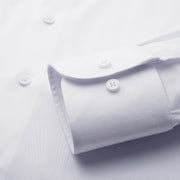 Nile White Heavyweight Bamboo Fiber Customized Dress Shirt