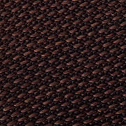 Knitted Dark Brown Silk Mini Houndstooth Tie
