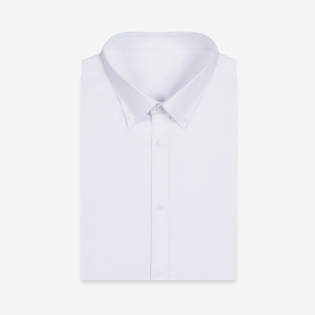 Nile White 100% High Count Cotton Customized Dress Shirt