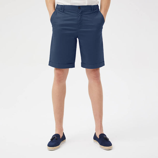 Pima Cotton Cowboy Blue Shorts