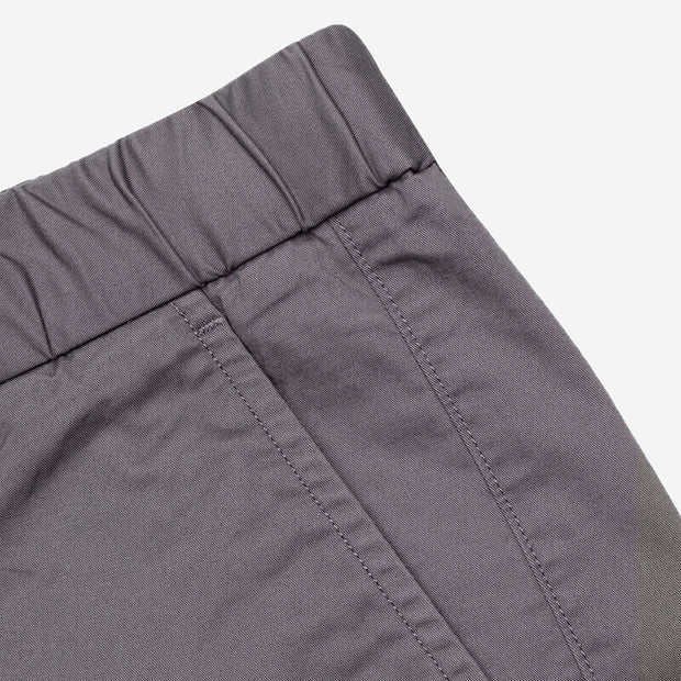 Pima Cotton Castle Grey Shorts