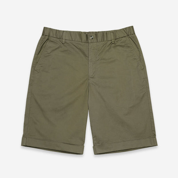 Pima Cotton Hawksbill Green Shorts