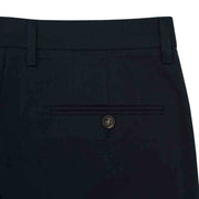 Non-Iron Captain Blue Cotton Trouser