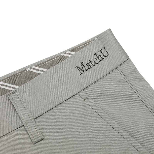 Non-Iron Griege Grey Cotton Customized Pants