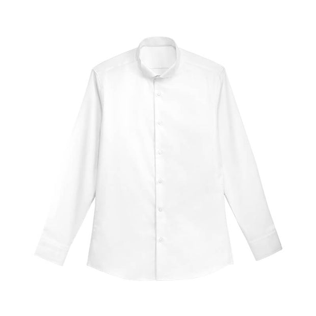 Daisy White High Count Cotton Customized Dress Shirt