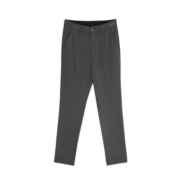 Magnet Grey Stretch Fabric Customized Pants