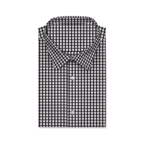 TWILL ROYAL Olive Black Checkered Short/Long Sleeve Custom Cotton Shirt