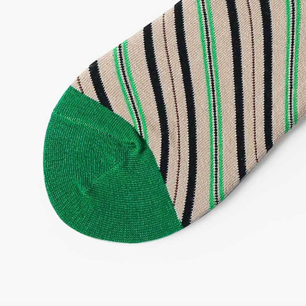 Crazy & Colorful Jungle Stripe Socks