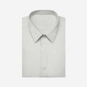 Grysande Grey Bamboo Fiber Customized Dress Shirt