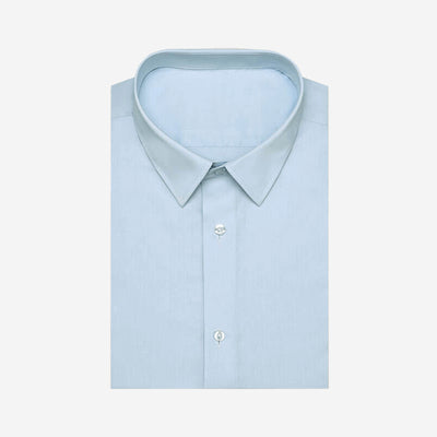 Kentucky Blue Bamboo Fiber Customized Dress Shirt
