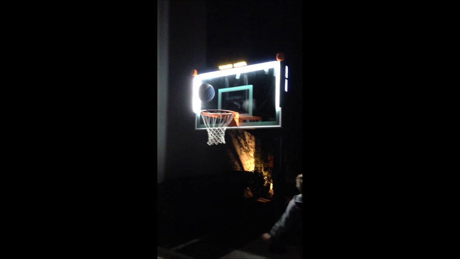 More than a Basketball Hoop With Lights?