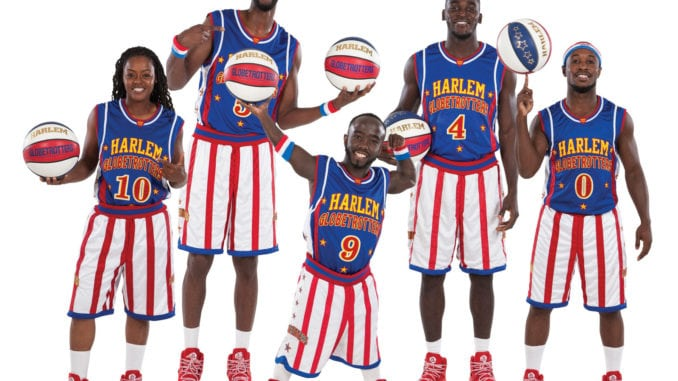 Will Our Basketball Hoop Light Travel Worldwide With The Globetrotters?