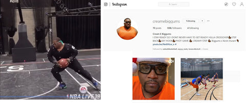 Instagram Profile Creame Biggums