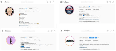 Basketball Instagram Profiles