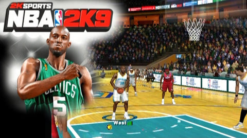 Video Game NBA 2K9 for Playstation
