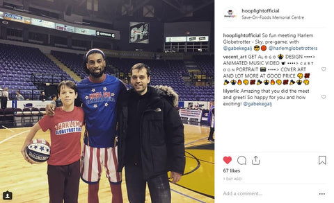 Jure and Gabe with Globetrotter Sky