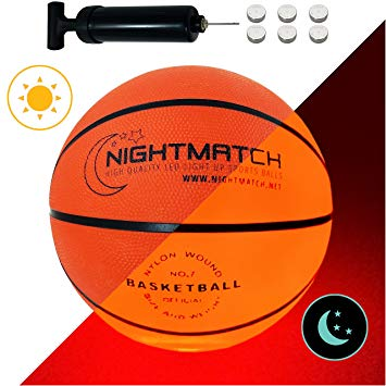 NIGHTMATCH Glow In The Dark Basketball