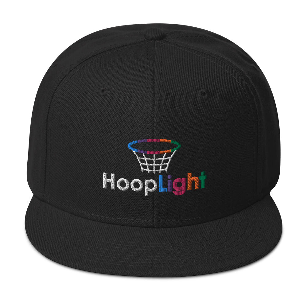 Black HoopLight Snapback