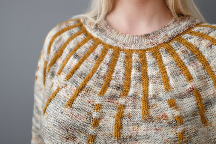 Sun Salutation Sweater