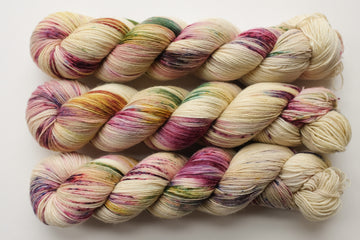 harmony - sock blend - hand dyed yarn merino wool 4 ply fingering 100g