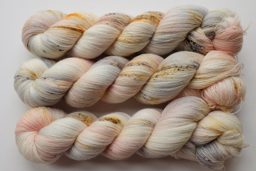 cherish - merino lace yarn - hand dyed 2 ply wool - 100g