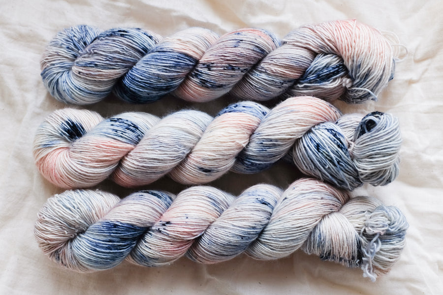 afternoon tea - merino singles -  hand dyed yarn 4ply fingering - 100g